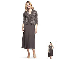 Product: Alex Evenings® Embellished Dress with Jacket
