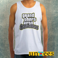 Grand Theft Auto San Andreas Clothing Tank Top For Mens