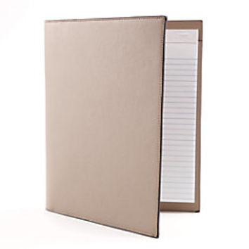 See Jane Work Portfolio Faux Leather Tan by Office Depot