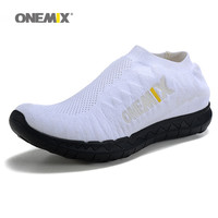ONEMIX Slip On Free Knit 3.0 Running Shoes for Women Run Athletic Trainers Breathable Sports Shoe Light Loafers Walking Sneakers