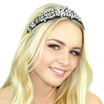 Suede Crusted Headband