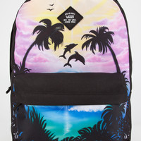 VANS Dolphin Beach Realm Backpack   Womens Backpacks
