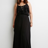 Flounce Cami Maxi Dress
