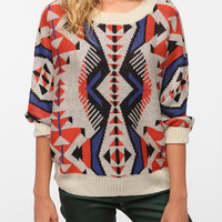 Urban Outfitters - Staring at Stars Bold Graphic Pullover Sweater