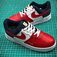 Nike Air Force 1 Low Independence Day AF1 Red White Blue Sport Shoes - Sale