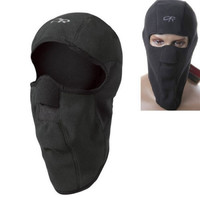 Men Women Ski Full Neck Face Mask Cap Hat Black Fleece Balaclava Style Motorcycle Winter Protector = 1946183364