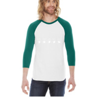 Guitar amplifier -  3/4 Sleeve Raglan Shirt