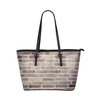 Tote Bags, Brushed Red Brick Style Bag