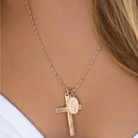Salvador Cross Necklace