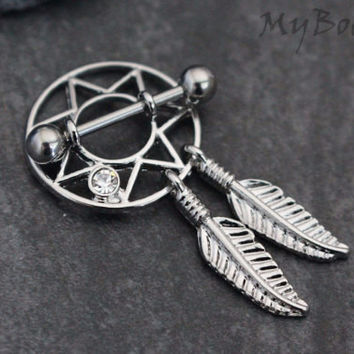 Dreamcatcher Nipple RIng