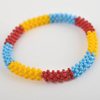Kids accessories handmade jewelry for kids beaded bracelet wrist bracelet
