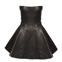 Buy Balmain Leather Bustier Dress online at harrods.com & earn Reward points. Luxury shopping with free returns on all UK orders.