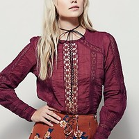 Free People Womens Sheer Dreaming Top