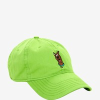 Scooby-Doo Lime Green Dad Cap
