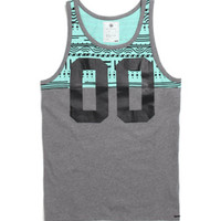 On The Byas Henry Printed Jersey Tank Top at PacSun.com
