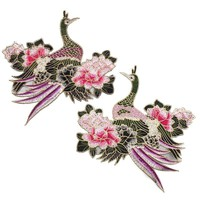 Flower  Embroidered  Patch  Clothes  Badge  Applique