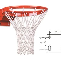 First Team Premium Competition Tube Tie Breakaway Basketball Goal FT194TA