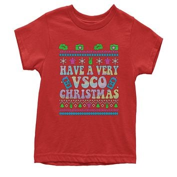 Have A Very Vsco Ugly Christmas Youth T-shirt