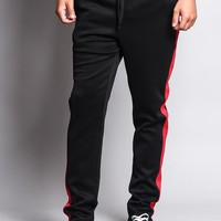 Slim Fit Striped Track Pants