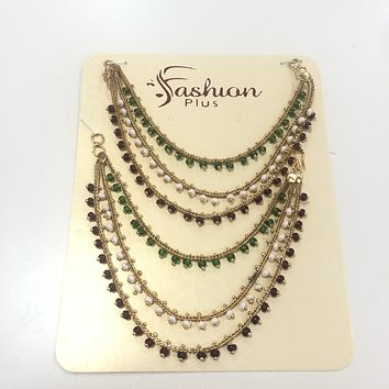 Earring chains