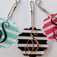 SALE Keychain - Monogram keychain - Personalized keychain - custom keychain - best friend keychain - gufta for her - gifts for girls
