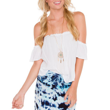 Loraine Top - White