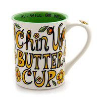 Chin Up Buttercup Mug - Our Name is Mud by Lorrie Veasey