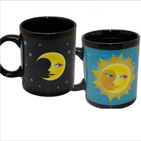 Heat Sensitive Mug (Sun and Moon)