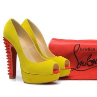 CL Christian Louboutin Fashion Heels Shoes-96