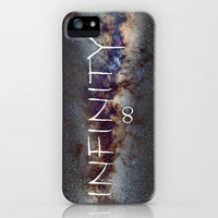 INFINITY STARS IN THE MILKY WAY ∞ iPhone Case by Guido Montañés   Society6