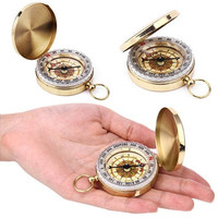 Portable Outdoor Pocket Watch Camping Compass Hiking HOT SALE [9222601924]