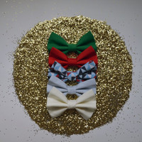 NEW. Christmas Collection Hair Bows.