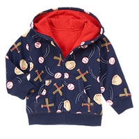 Baseball Gear Fleece Hoodie