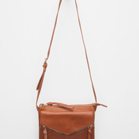 Violet Ray Leanna Crossbody Bag Cognac One Size For Women 27595240901