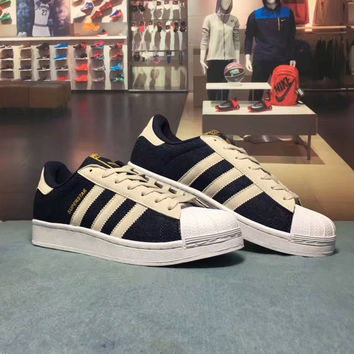 """""""Adidas Superstar"""" Fashion Casual Multicolor Unisex Sneakers Couple Shell Head Plate Shoes"""