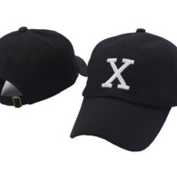 Malcolm X Embroidered Baseball Cap Hat