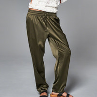 Womens Pull-On Sleep Pants | Womens Bottoms | Abercrombie.com