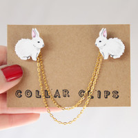 Collar Clips: Bunnies **Special Easter Offer**