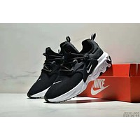 NIKE PRESTO REACT trend retro men's and women's wild sports shoes Black