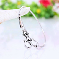 Scissors Bangle Bracelet-Hair Stylist Hair Dresser Bracelet Jewelry-Scissors Jewelry Charm