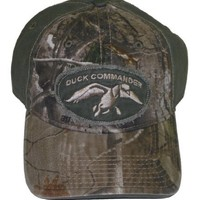 Duck Commander 2-Tone Hat, Green/Camouflage