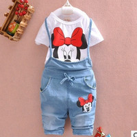 Baby Girl Overall Strap