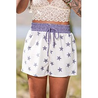 Home Of The Free Shorts - White
