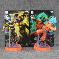 Dragon Ball Z Resurrection F Golden Frieza frieza VS Goku Action Figure Model