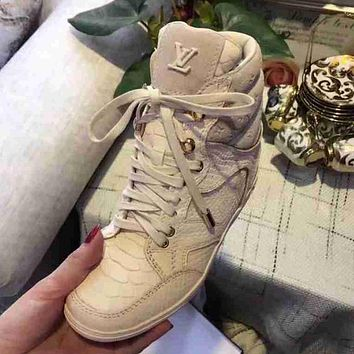 LV Louis Vuitton Women Casual Sneakers Sport Shoes