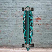 Punked Digital Wave Pintail Longboard 40 inch - Complete