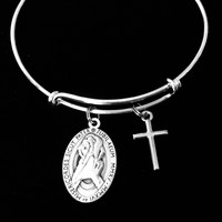 Merciful Like the Father Jubilee of Mercy Pope Francis Expandable Charm Bracelet