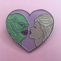 Creature from the black lagoon enamel pin 1.75""