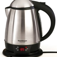Chef's Choice 688 SmartKettle Cordless 1-3/4-Quart Electric Kettle