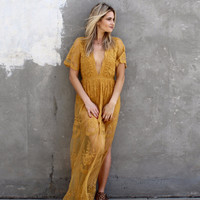 Chloe Yellow Maxi